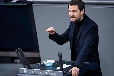 Johannes Vogel (FDP) bei einer Plenarsitzung im Deutschen Bundestag. Foto: Bernd von Jutrczenka/dpa