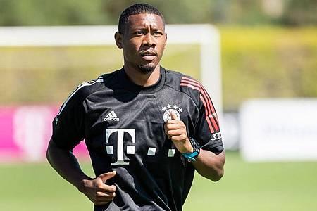 Der Vertrag von David Alaba beim FC Bayern München läuft aus. Foto: Matthias Balk/dpa