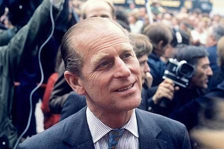 Prinz Philip 1978 bei einem Besuch in Bonn. Foto: picture alliance / dpa
