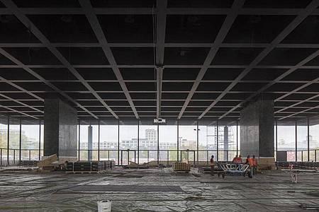 Vor der Sanierung die Reduktion. Foto: Ute Zscharnt/PR & Communications für David Chipperfield Architects Gesellschaft von Architekten/dpa