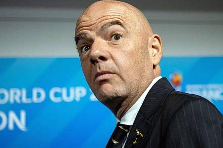 Will einen geänderten WM-Rythmus durchsetzen: FIFA-Boss Gianni Infantino. Foto: Sebastian Gollnow/dpa
