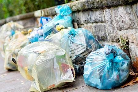 Zu viel Verpackung: 227,5 Kilogramm ist der Verbrauch pro Kopf in Deutschland. Foto: Hauke-Christian Dittrich/dpa