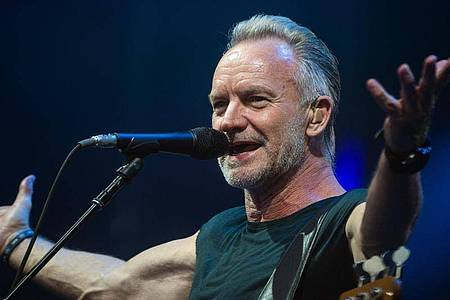 Sting hat sich beim Reeperbahn-Festival angesagt. Foto: Christophe Gateau/dpa