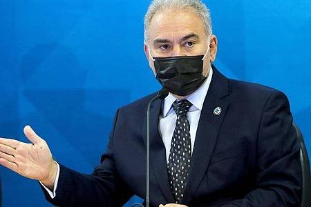 Brasiliens Gesundheitsminister MarceloQueiroga ist in New York positiv auf Corona getestet worden. Foto: Wilson Dias/Agencia Brazil/dpa