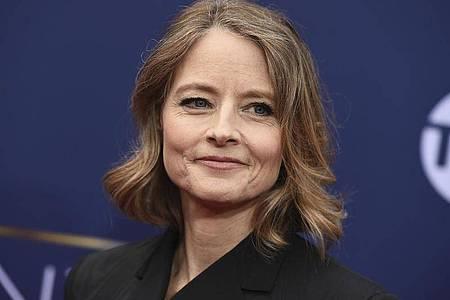 Jodie Foster wird beim Filmfestival in Cannes ausgezeichnet. Foto: Jordan Strauss/Invision/AP/dpa