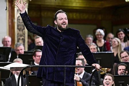 Andris Nelsons, Dirigent aus Lettland, hat die Musik von Richard Wagner schon al Kind kennengelernt. Foto: Hans Punz/APA/dpa