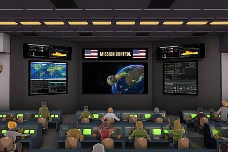 Bereit zum Abheben:«Mars Horizon» macht Spielerinnen und Spieler zum Kopf einer Raumfahrtorganisation. Foto: Auroch Digital/The Irregular Corporation/dpa-tmn