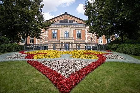 Das Bayreuther Festspielhaus. Foto: Daniel Karmann/dpa