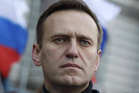 Alexej Nawalny, Oppositionsführer aus Russland. Foto: Pavel Golovkin/AP/dpa/Archiv