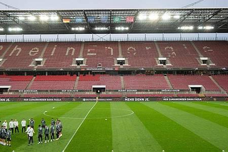 Die deutsche Nationalmannschaft spielt am Dienstag in Köln gegen die Schweiz. Foto: Federico Gambarini/dpa