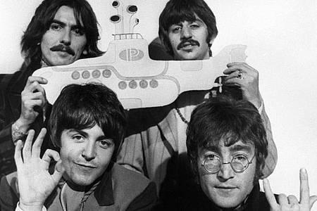Die Beatles 1967 in London. Foto: PA Wire/dpa