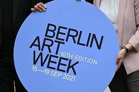 Die Berliner Art Week findet vom 15. Bis 19. September 2021 statt. Foto: Monika Skolimowska/dpa-Zentralbild/dpa