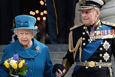 Nach mehr als 20.000 Terminen hat Prinz Philip inzwischen seine Repräsentationspflichten abgegeben. Foto: Andy Rain/EPA/dpa
