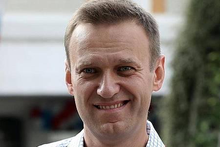 Alexej Nawalny ist einer der schärfsten Kritiker des russischen Präsidenten Wladimir Putin. Foto: Andrew Lubimov/AP/dpa