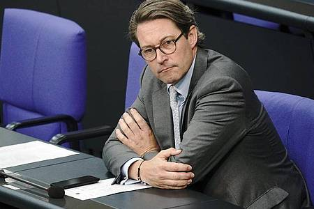 Bundesverkehrsminister Andreas Scheuer. Foto: Michael Kappeler/dpa
