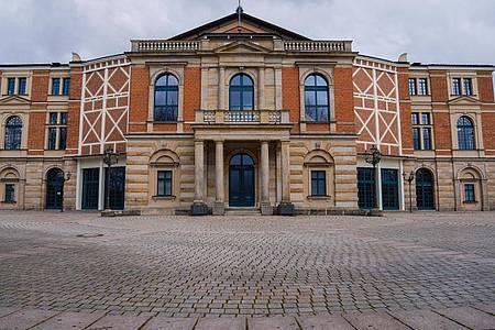 Das Festspielhaus in Bayreuth. Foto: Nicolas Armer/dpa