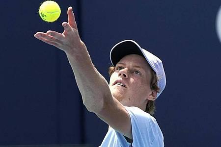 Jannik Sinner hat das Finale in Miami verloren und seinen ersten Masters-Titel verpasst. Foto: Lynne Sladky/AP/dpa