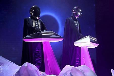 Schon immer geheimnisvoll:Daft Punk. Foto: Matt Sayles/Invision/AP/dpa
