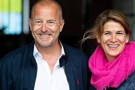 Die Familie von Heino Ferch und seiner Frau Marie-Jeanette hat sich noch einmal vergrößert. Foto: Sven Hoppe/dpa