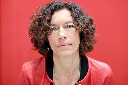 Anne Weber wird neue Stadtschreiberin von Bergen-Enkheim. Foto: Jan Woitas/dpa-Zentralbild/dpa