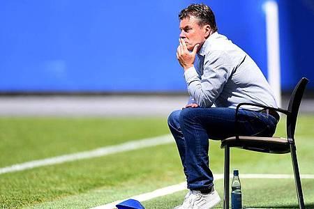 Dieter Hecking muss beim Hamburger SV wohl gehen. Foto: Stuart Franklin/Getty Images Europe/Pool/dpa