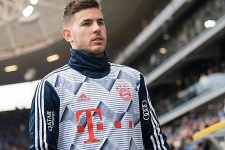 Droht eine Gefängnissperre in Spanien: Bayern-Star Lucas Hernández. Foto: Tom Weller/dpa