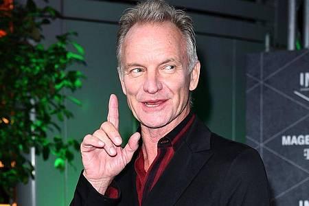 Der britische Musiker Sting. Foto: Britta Pedersen/dpa-Zentralbild/dpa