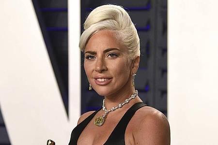 "Lady Gaga gewnn den Preis für den besten Originalsong ""Shallow"". Foto: Evan Agostini/Invision/AP/dpa"
