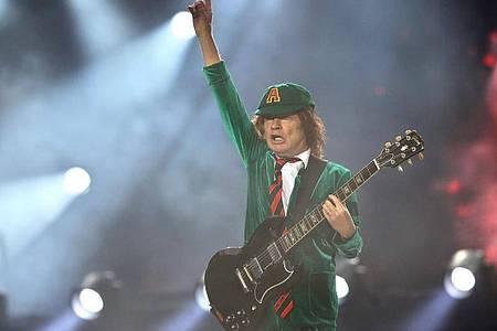 Nummer eins:Angus Young und AC/DC. Foto: Jan Woitas/dpa