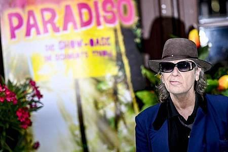 Udo Lindenberg war auch bei der Premiere der Show «Paradiso». Foto: Axel Heimken/dpa