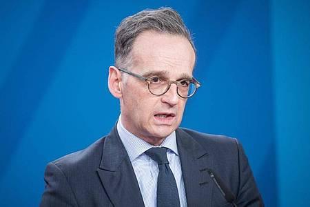 Bundesaußenminister Heiko Maas (SPD). Foto: Stefanie Loos/AFP Pool/dpa