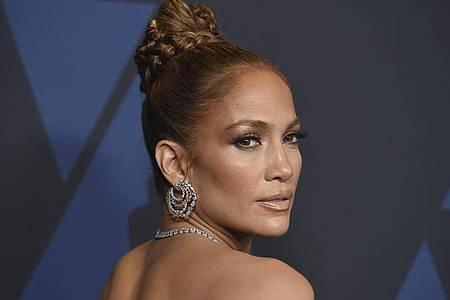 Jennifer Lopez bei den «Governors Awards» 2019. Foto: Jordan Strauss/Invision/AP/dpa