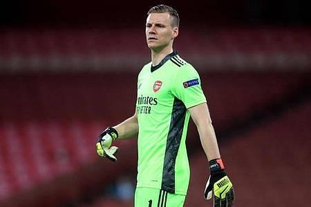 Torhüter Bernd Leno erreichte mit dem FC Arsenal das Viertelfinale der Europa League. Foto: Adam Davy/PA Wire/dpa