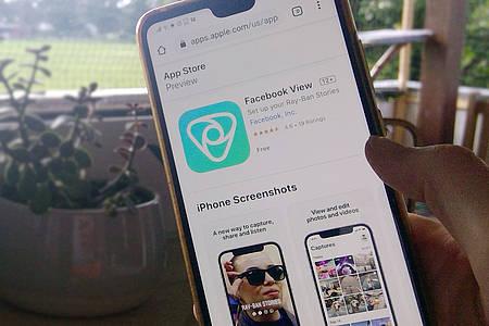 App Facebook View für Ray-Ban Stories