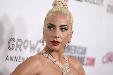 Lady Gaga, amerikanischer Pop-Star, kommt zur Verleihung des American Cinematheque Awards. Foto: Jordan Strauss/Invision/AP/dpa