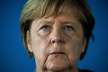 Kanzlerin Angela Merkel besucht ihren Heimatort Templin in der Uckermark. Foto: Michael Kappeler/dpa