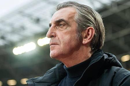 Ralf Minge ist der Sportgeschäftsführer von Dynamo Dresden. Foto: Robert Michael/dpa-Zentralbild/dpa