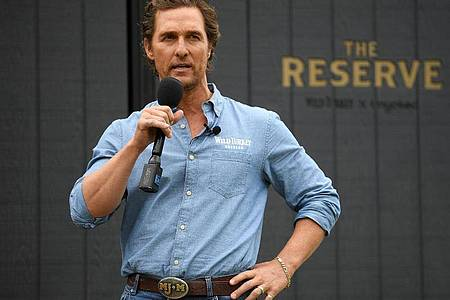 Matthew McConaughey: «Politik scheint mir im Moment ein kaputtes Geschäft zu sein.». Foto: Dan Himbrechts/AAP/dpa