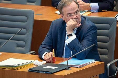 Armin Laschet will aus dem historischen Umfragetief herauskommen. Foto: Federico Gambarini/dpa