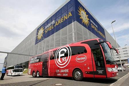 Die Mannschaft von Fortuna Düsseldorf wurde in Quarantäne geschickt. Foto: Roland Weihrauch/dpa