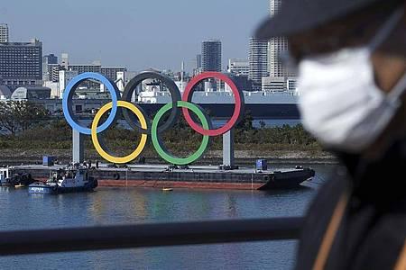 Wegen der Corona-Pandemie wurden die Tokio-Spiel 2020 ins Jahr 2021 verschoben. Foto: Eugene Hoshiko/AP/dpa