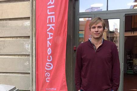 Ivan Sarar, Leiter der Kulturhauptstadt-Agentur 2020 im kroatischen Rijeka. Foto: Gregor Mayer/dpa