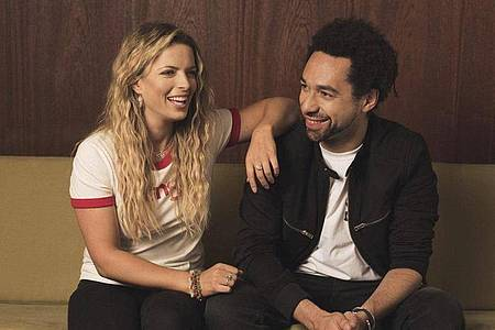Top-Country-Duo:Ben Earle und Crissie Rhodes sind The Shires. Foto: Pip/dpa