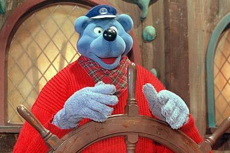 Käpt`n Blaubär in einer Szene aus «30 Jahre Käpt?n Blaubär - Eine Reise durch sein Seemannsgarn». Foto: Michael Fehlauer/WDR/dpa