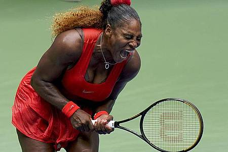 Mama und erfolgreiche Tennisspielerin in Personalunion: Serena Williams. Foto: Seth Wenig/AP/dpa