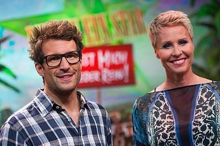 Die «Dschungelshow»-Moderatoren Sonja Zietlow und Daniel Hartwich 2015 in Hürth. Foto: Marius Becker/dpa