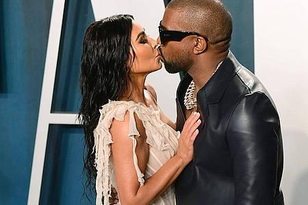 Kim Kardashian schreibt zu Kanyes Geburtstag: «Love U for Life!». Foto: Ian West/PA Wire/dpa