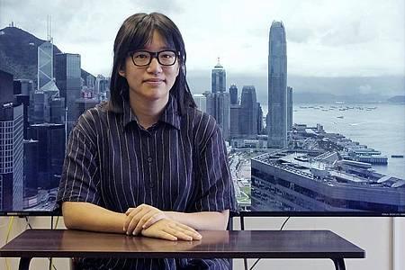 Chow Hang-tung und vier andere Aktivisten wurden festgenommen. Foto: Vincent Yu/AP/dpa