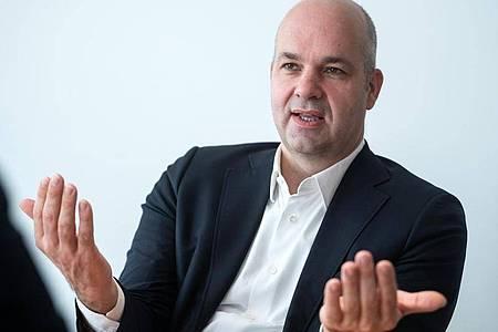 Marcel Fratzscher, Präsident des Deutschen Instituts für Wirtschaftsforschung. Foto: Bernd von Jutrczenka/dpa