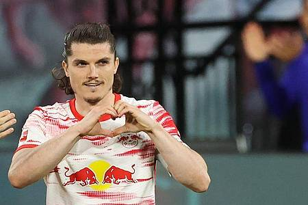 Folgt Julian Nagelsmann zum FC Bayern: Marcel Sabitzer. Foto: Jan Woitas/dpa-Pool/dpa